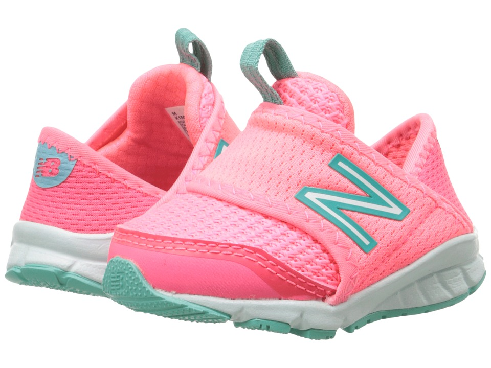 New Balance Kids - 150S's (Infant/Toddler) (Pink/Green) Girls Shoes