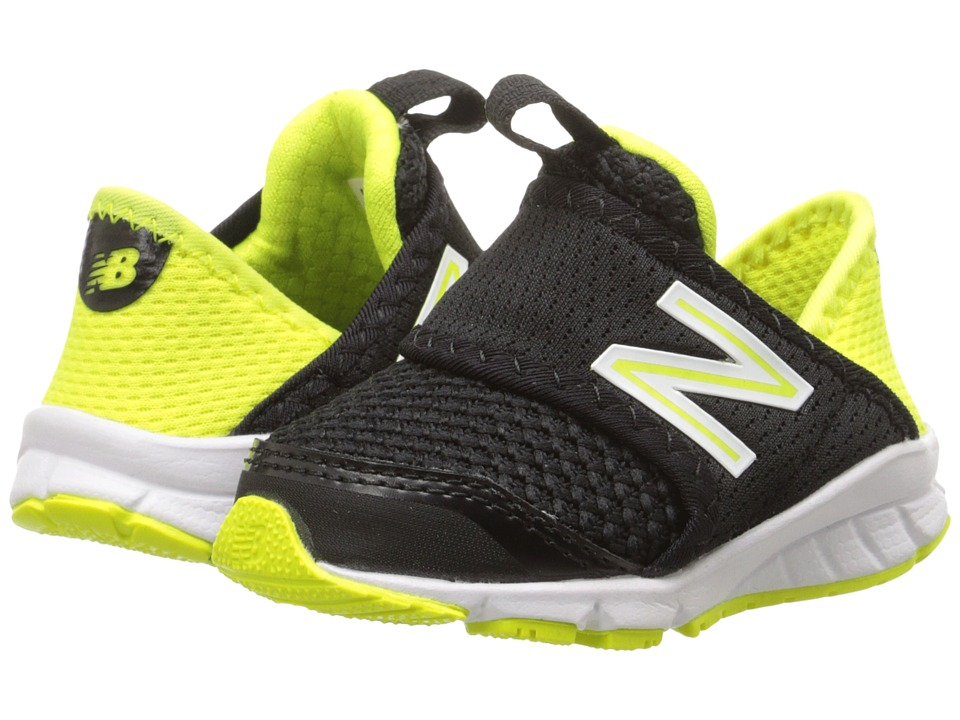 New Balance Kids - 150S's (Infant/Toddler) (Black/Yellow) Boys Shoes