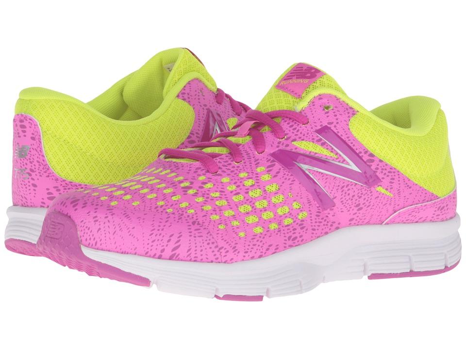New Balance Kids - 775 (Little Kid/Big Kid) (Pink/Yellow) Girls Shoes