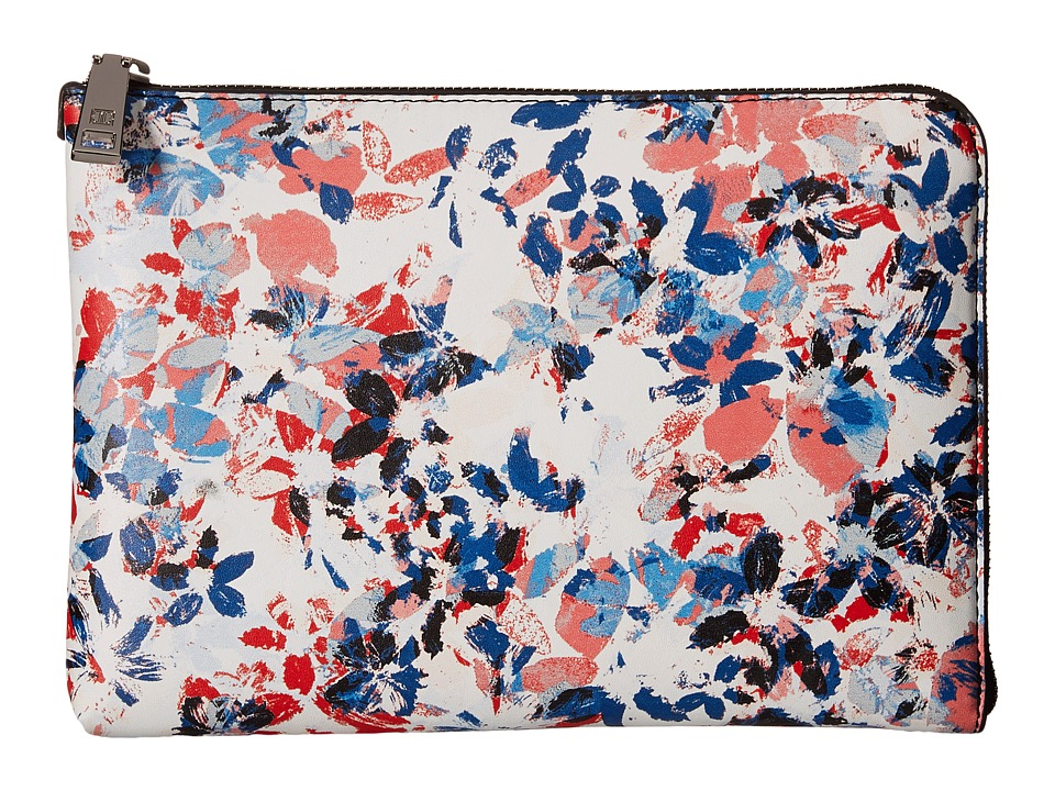 Ivanka Trump - Rio Tech Clutch with Battery Charging Pack (Stencil Flower) Clutch Handbags