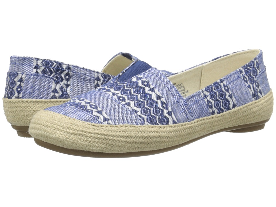 Nine West - Gilboy (Blue Multi Fabric 1) Women's Flat Shoes