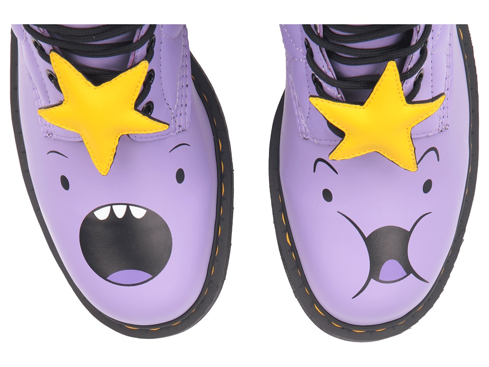 Dr. Martens - 1460 Princess 8-Eye Boot (Lilac Softy T) Lace-up Boots