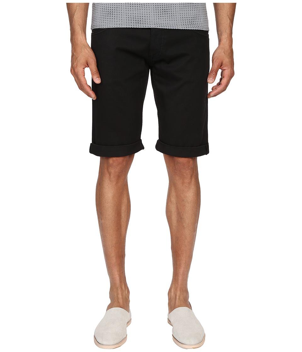Armani Jeans - Slim Shorts (Black) Men's Shorts
