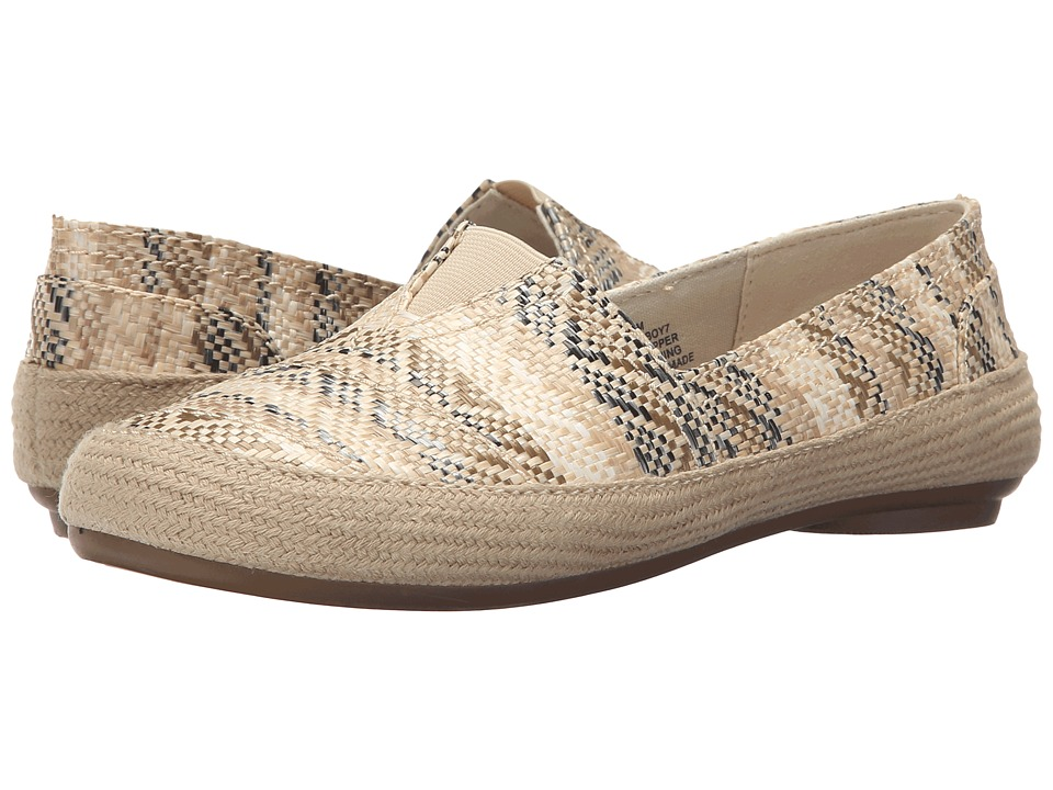 Nine West - Gilboy (Natural Multi Fabric) Women's Flat Shoes