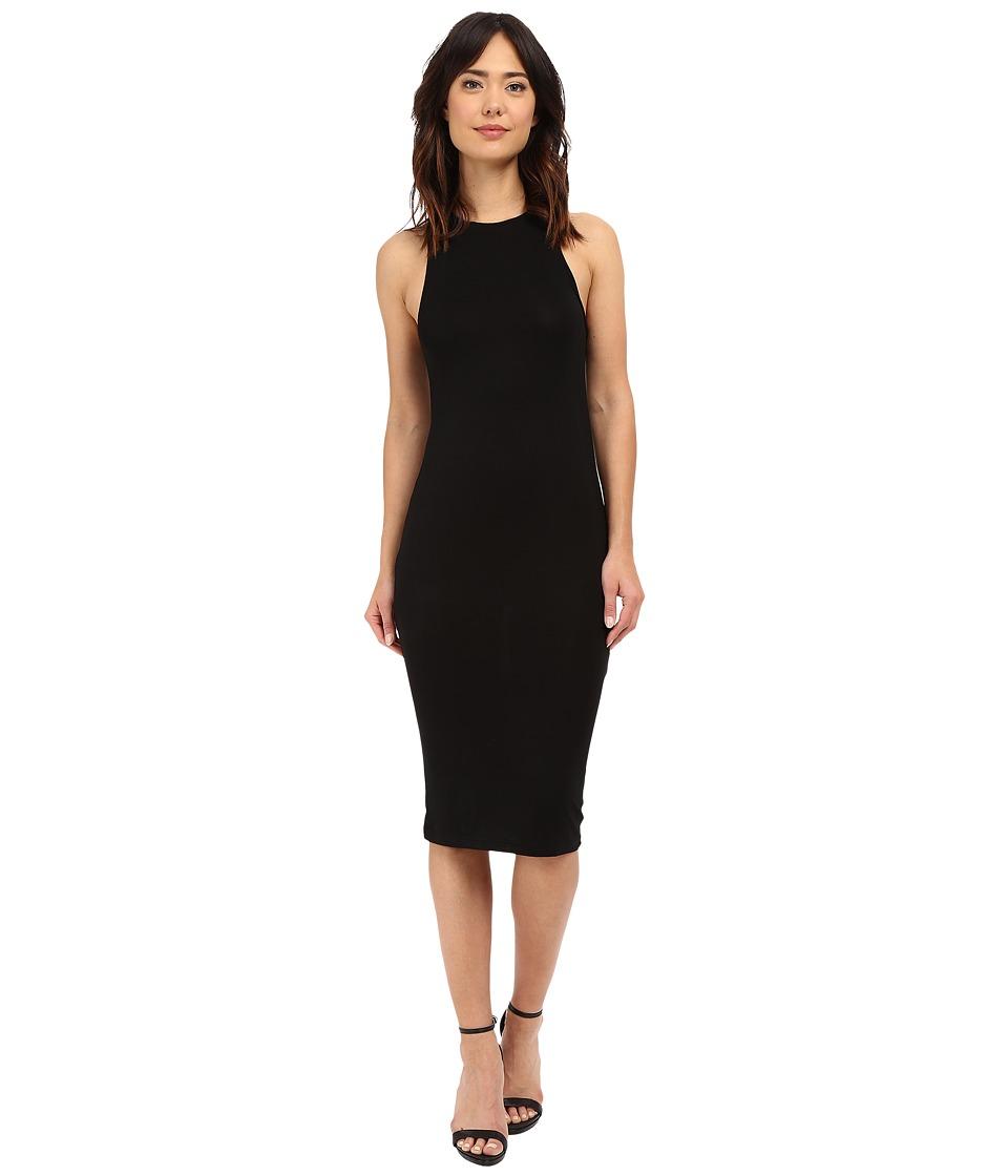 Culture Phit - Sylvie Midi Tank Dress (Black) Women's Dress