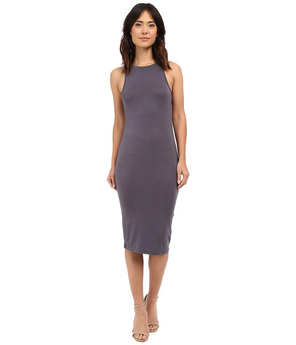 Culture Phit - Sylvie Midi Tank Dress (Slate) Women's Dress