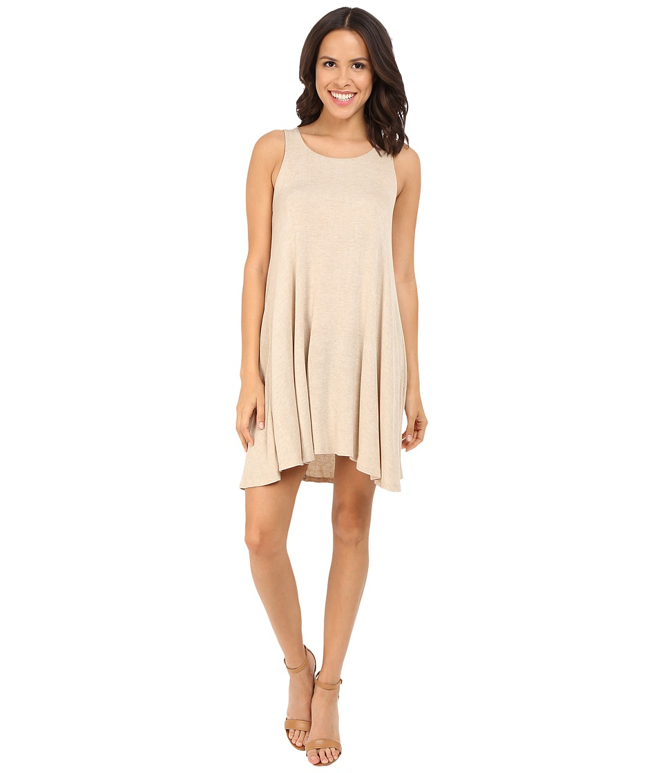Culture Phit - Addison Tank Dress (Taupe) Women's Dress