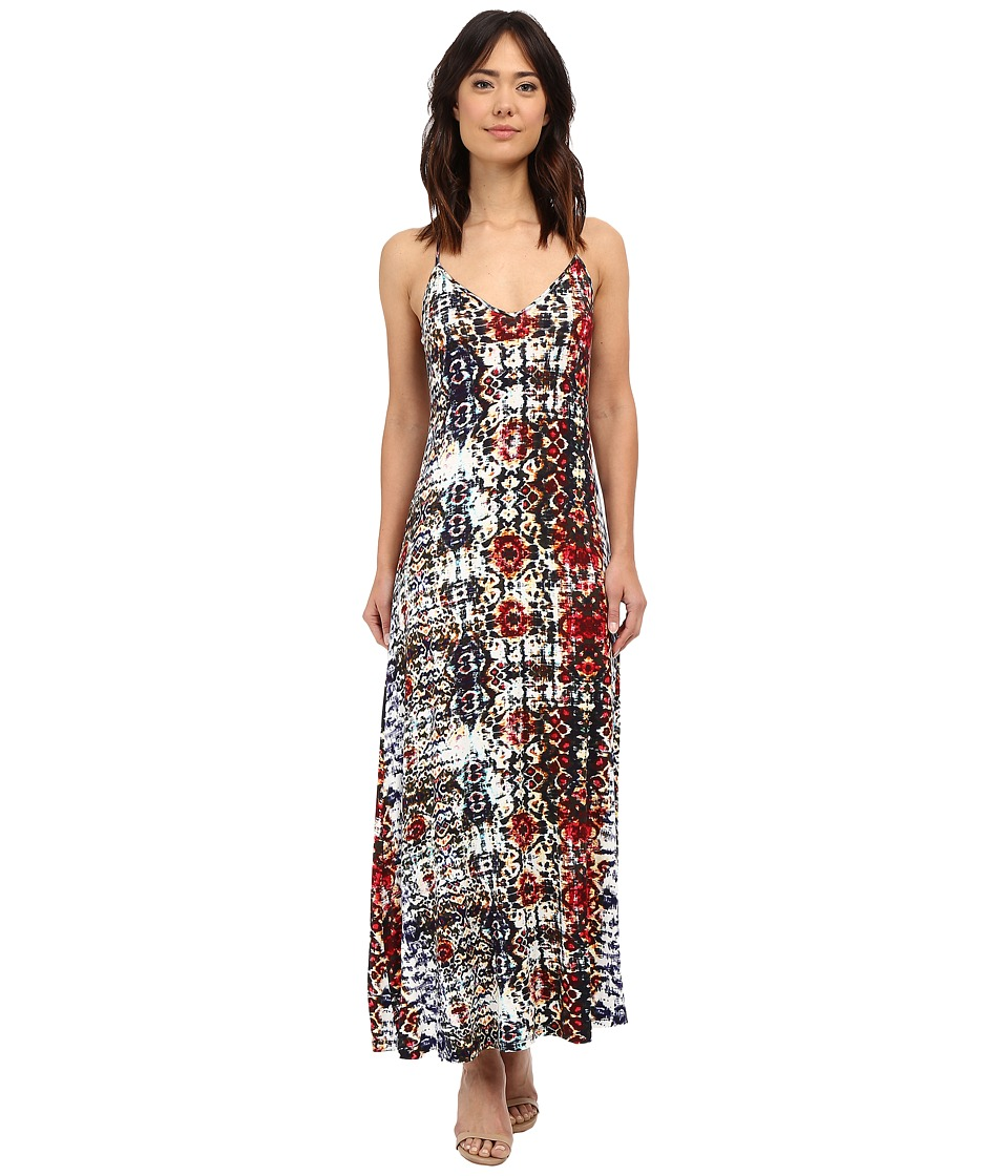 Culture Phit Aubrey Spaghetti Strap Maxi Dress (Multi) Women