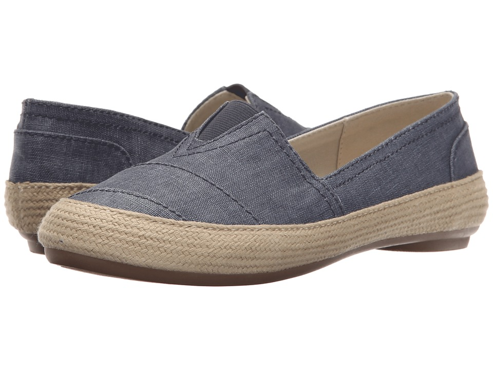 Nine West - Gilboy (Denim Canvas) Women's Flat Shoes