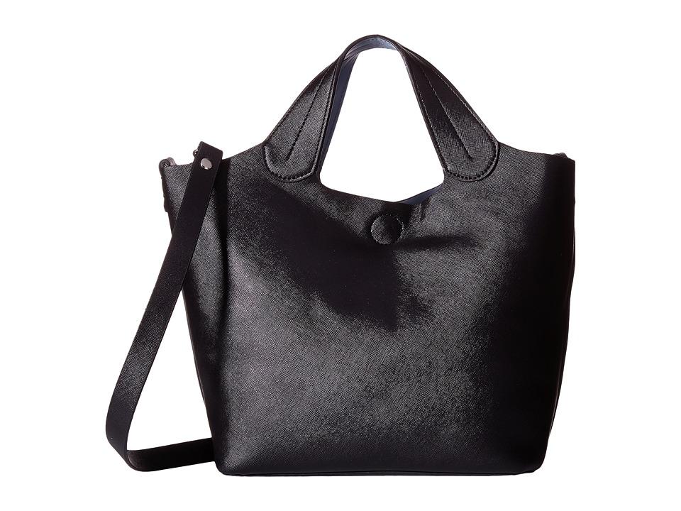 CARLOS by Carlos Santana - Brooke 2-in-1 Tote (Black/Denim) Tote Handbags