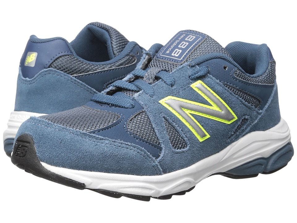 New Balance Kids - 888 (Big Kid) (Blue/Yellow) Boys Shoes