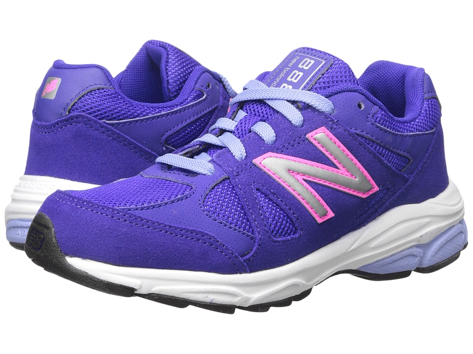 New Balance Kids 888 (Big Kid) (Purple/Pink) Girls Shoes