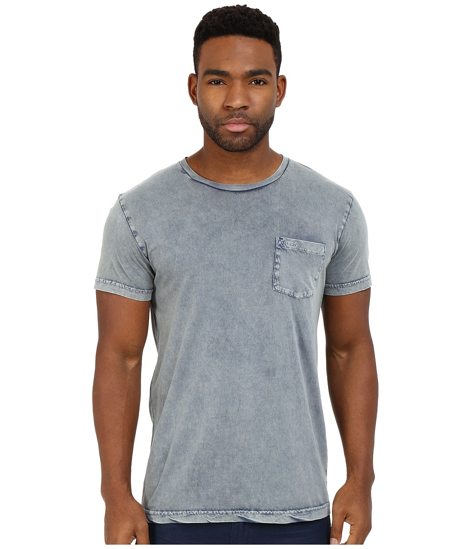 RVCA - PTC Super Wash Knit (Dark Denim) Men's Clothing