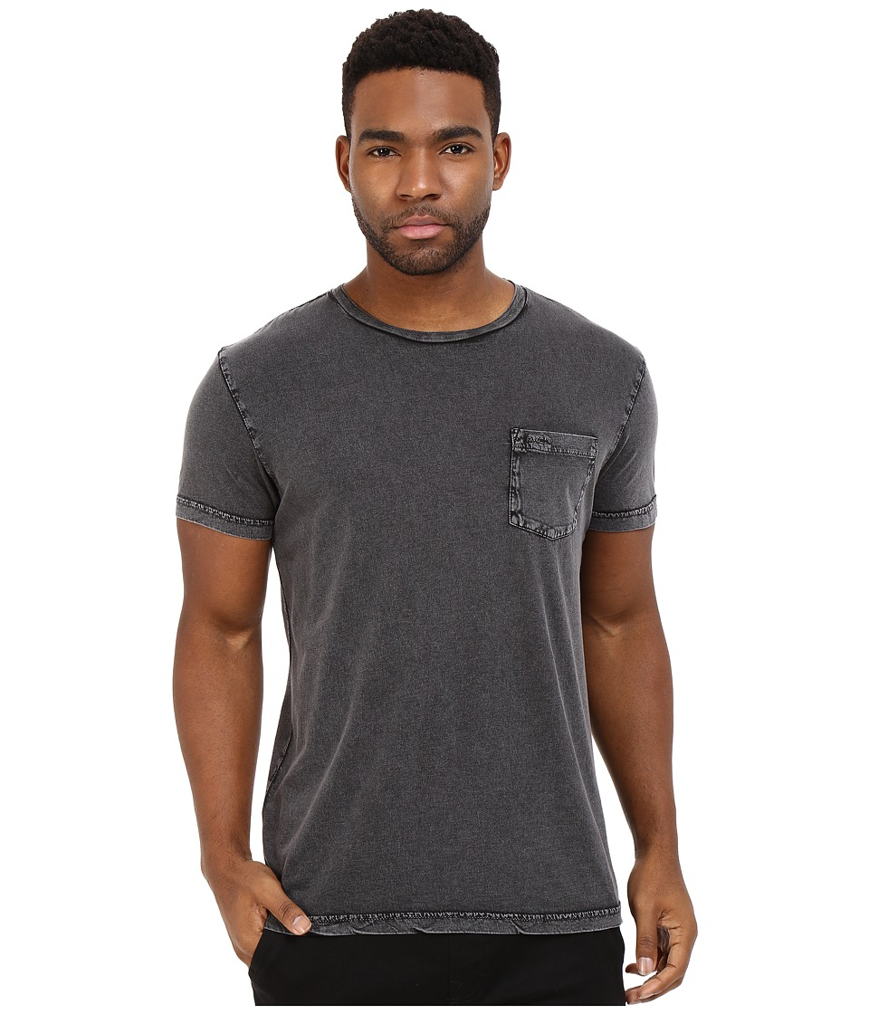RVCA - PTC Super Wash Knit (Pirate Black) Men's Clothing