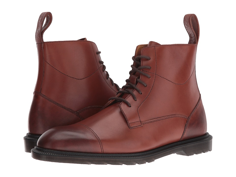 Dr. Martens - Winchester 7-Eye Zip Boot (Oak Temperley) Lace-up Boots