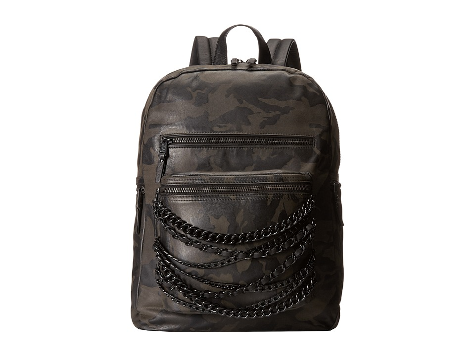 ASH - Domino Chain Large Backpack (Black Camo) Backpack Bags