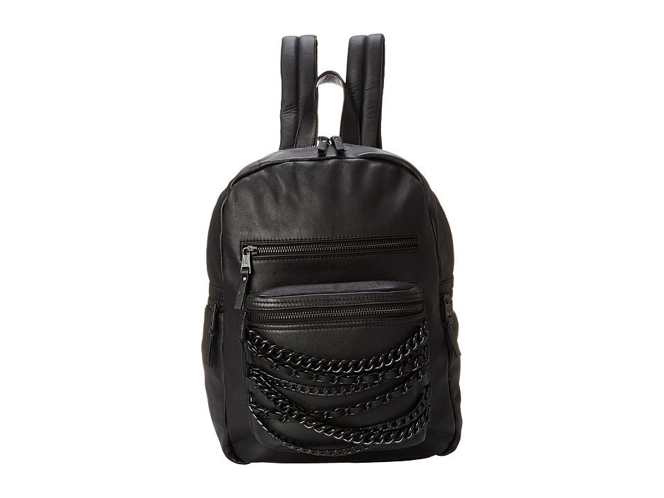ASH - Domino Small Backpack (Black/Black) Backpack Bags