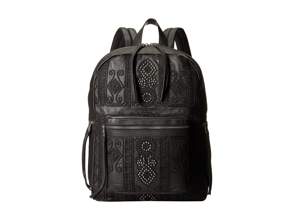 ASH - Stevie Large Backpack (Black) Backpack Bags