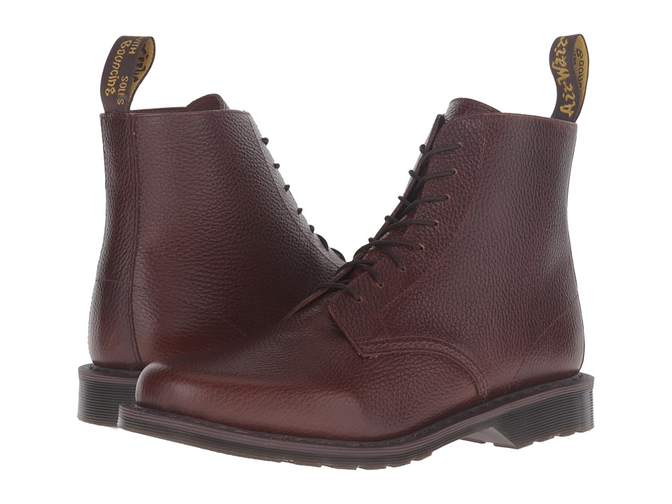 Dr. Martens - Eldritch 8-Eye Boot (Dark Brown New Nova) Lace-up Boots