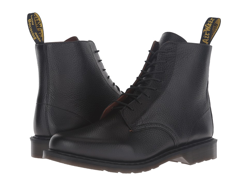 Dr. Martens - Eldritch 8-Eye Boot (Black New Nova) Lace-up Boots