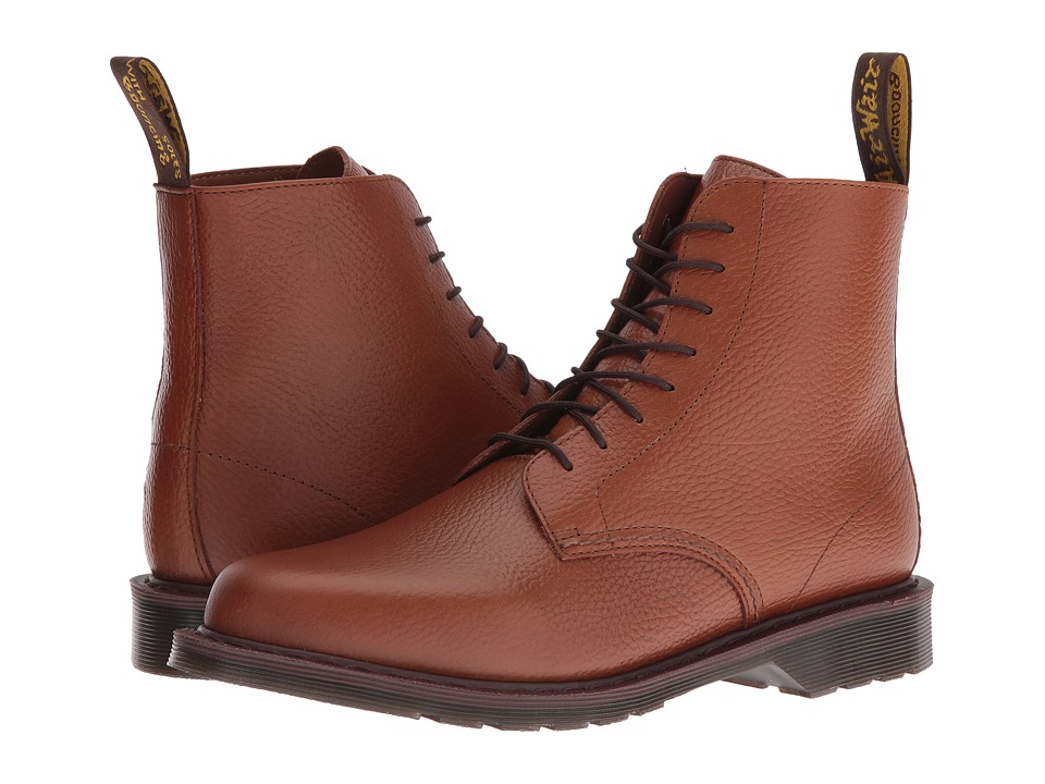 Dr. Martens - Eldritch 8-Eye Boot (Tan New Nova) Lace-up Boots