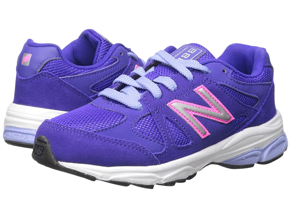 New Balance Kids - 888 (Little Kid) (Purple/Pink) Girls Shoes