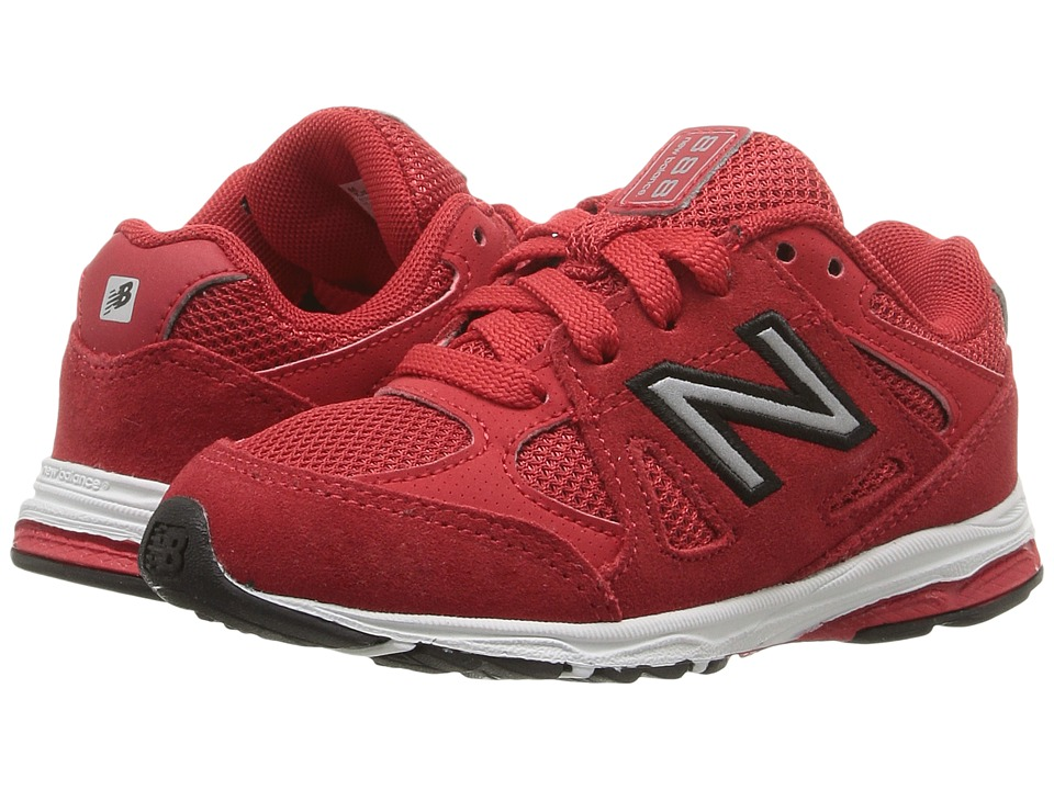 New Balance Kids - 888 (Infant/Toddler) (Red/Black) Boys Shoes