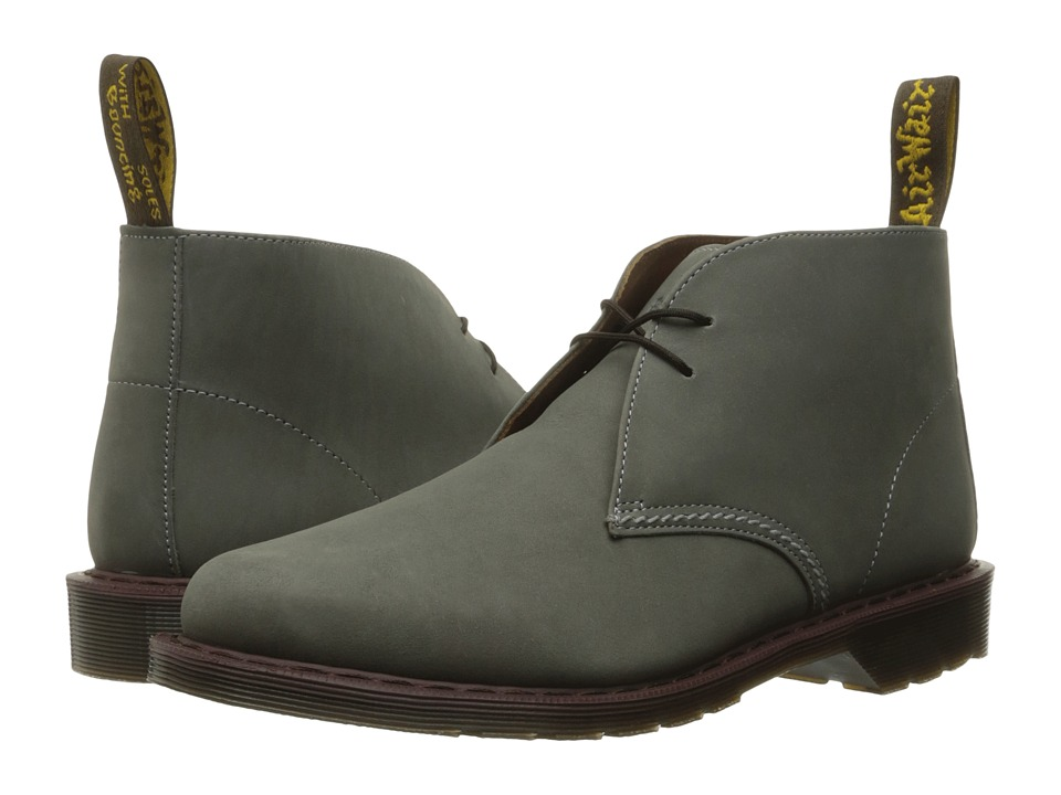 Dr. Martens - Sawyer Desert Boot (Grey Kaya) Lace-up Boots