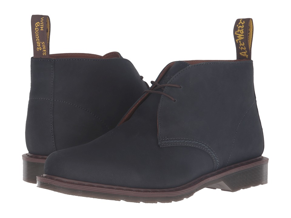 Dr. Martens - Sawyer Desert Boot (Navy Kaya) Lace-up Boots