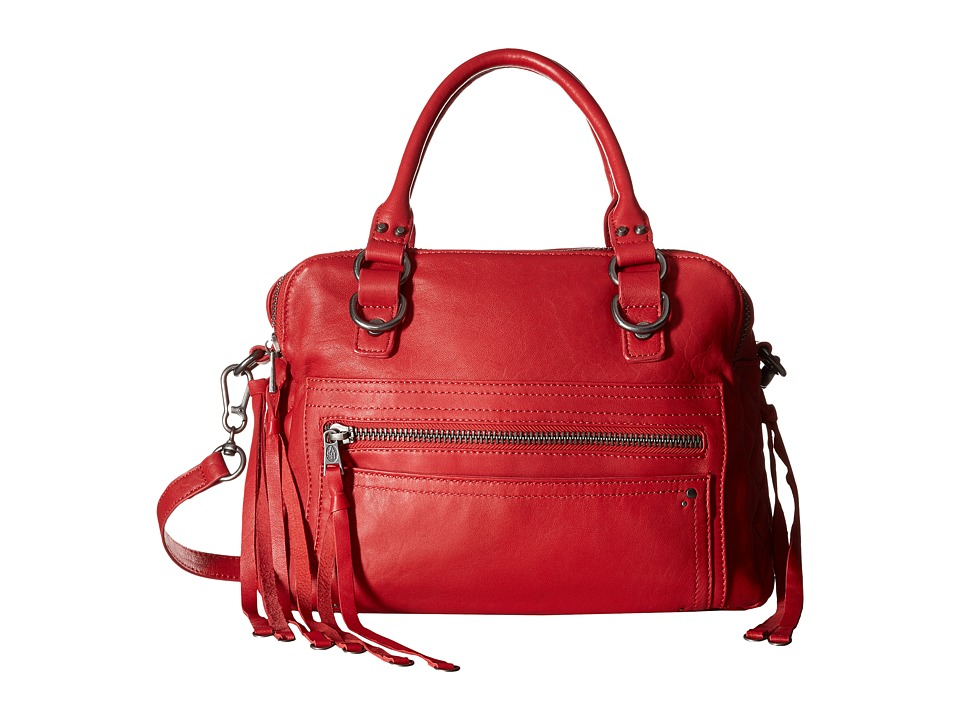ASH - Zander Satchel (Red) Satchel Handbags
