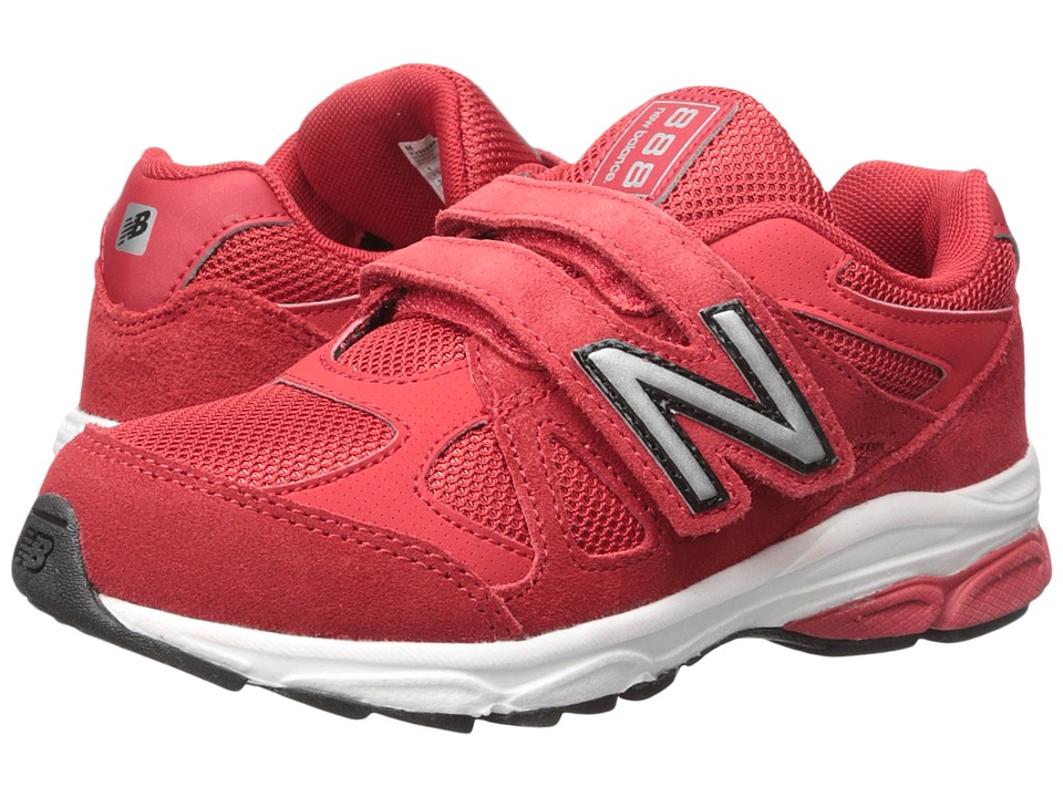 New Balance Kids 888 (Little Kid) (Red/Black 2) Boys Shoes