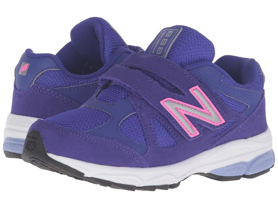 New Balance Kids 888 (Little Kid) (Purple/Pink 2) Girls Shoes