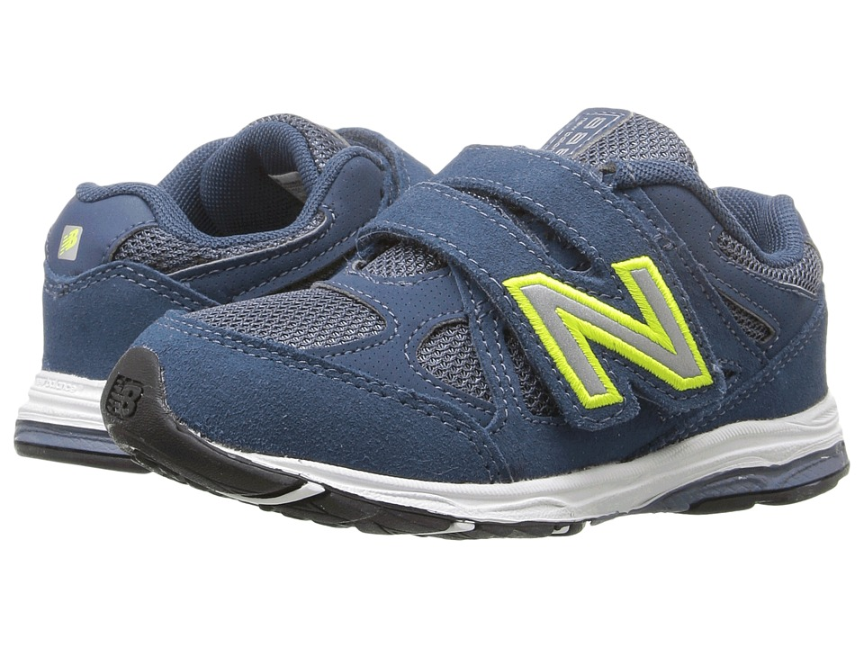 New Balance Kids - 888 (Infant/Toddler) (Blue/Yellow 2) Boys Shoes