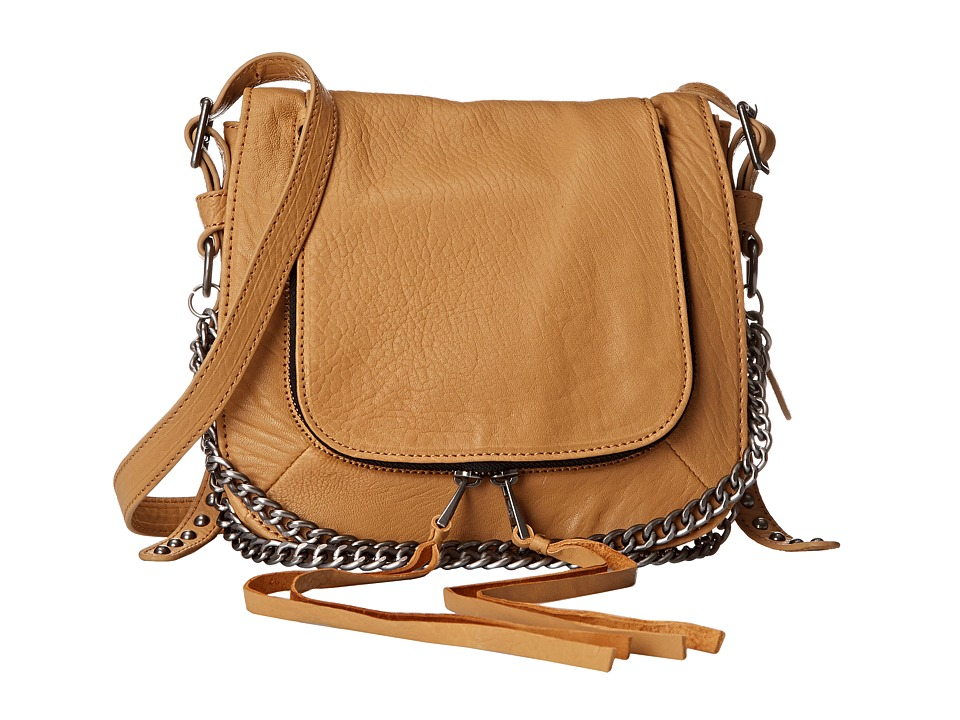 ASH - Jax Crossbody (Tan) Cross Body Handbags