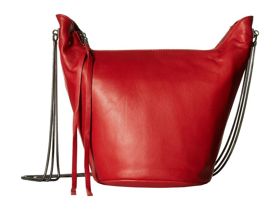 ASH - Phoebe Crossbody (Red) Cross Body Handbags