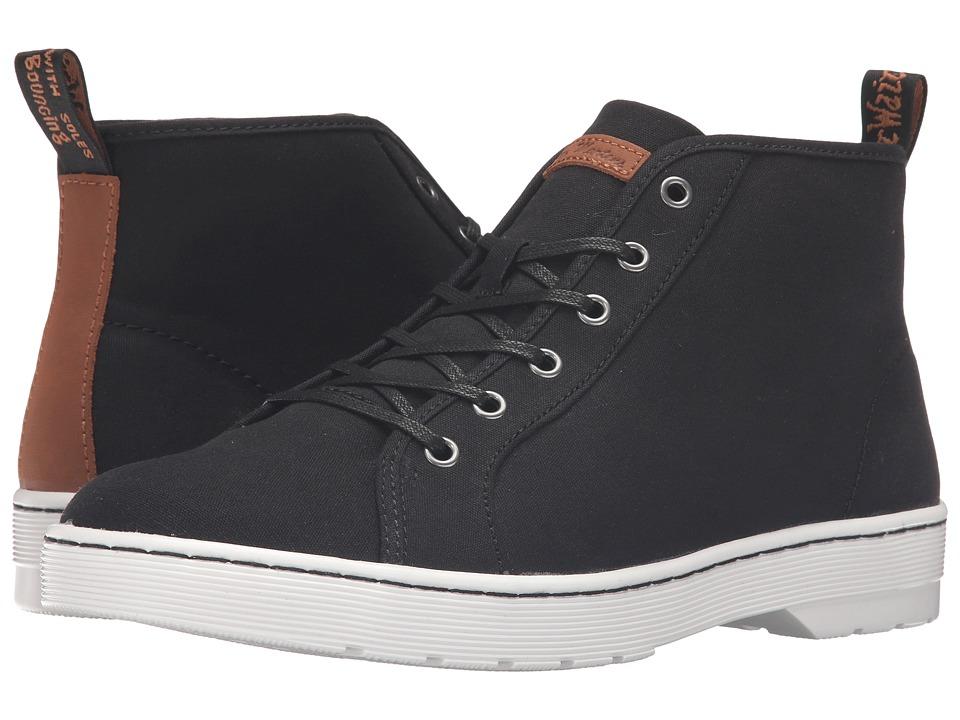 Dr. Martens - Coburg 6-Eye Canvas LTT Boot (Black 8oz. Canvas/Tan Mohawk) Lace-up Boots
