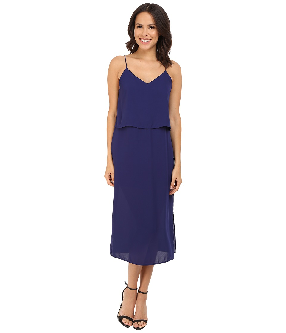 Brigitte Bailey - Remi Mid-Length Layered Cami Dress (Navy) Women's Dress