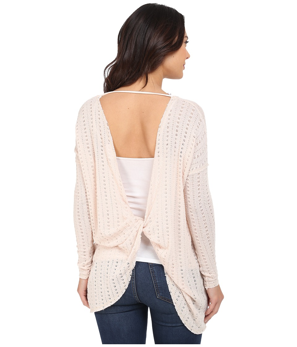 Brigitte Bailey - Alma Twisted Sweater (Blush) Women's Sweater