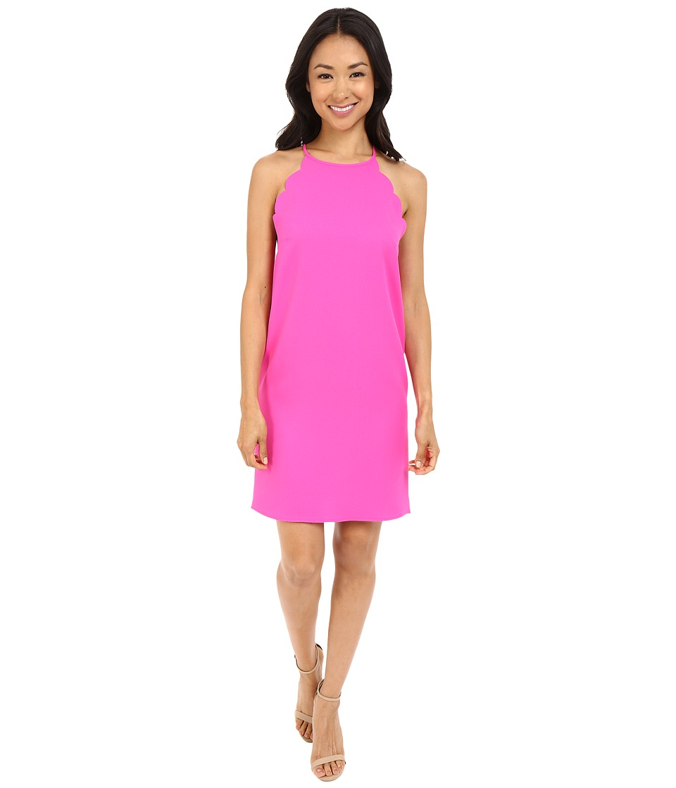 Brigitte Bailey - Jayla Dress with Scalloped Armhole (Fuchsia) Women's Dress