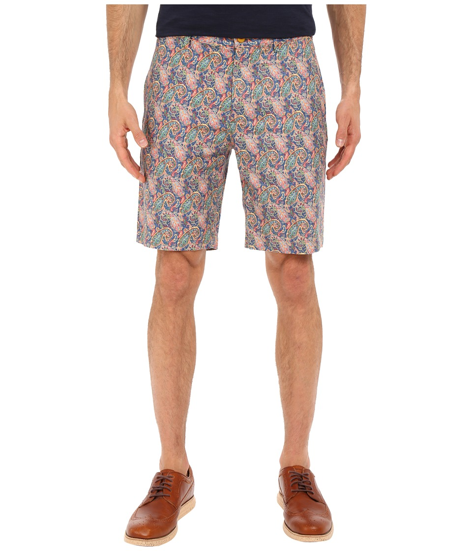 Robert Graham - Lake Havasu Woven Shorts (Blue) Men's Shorts