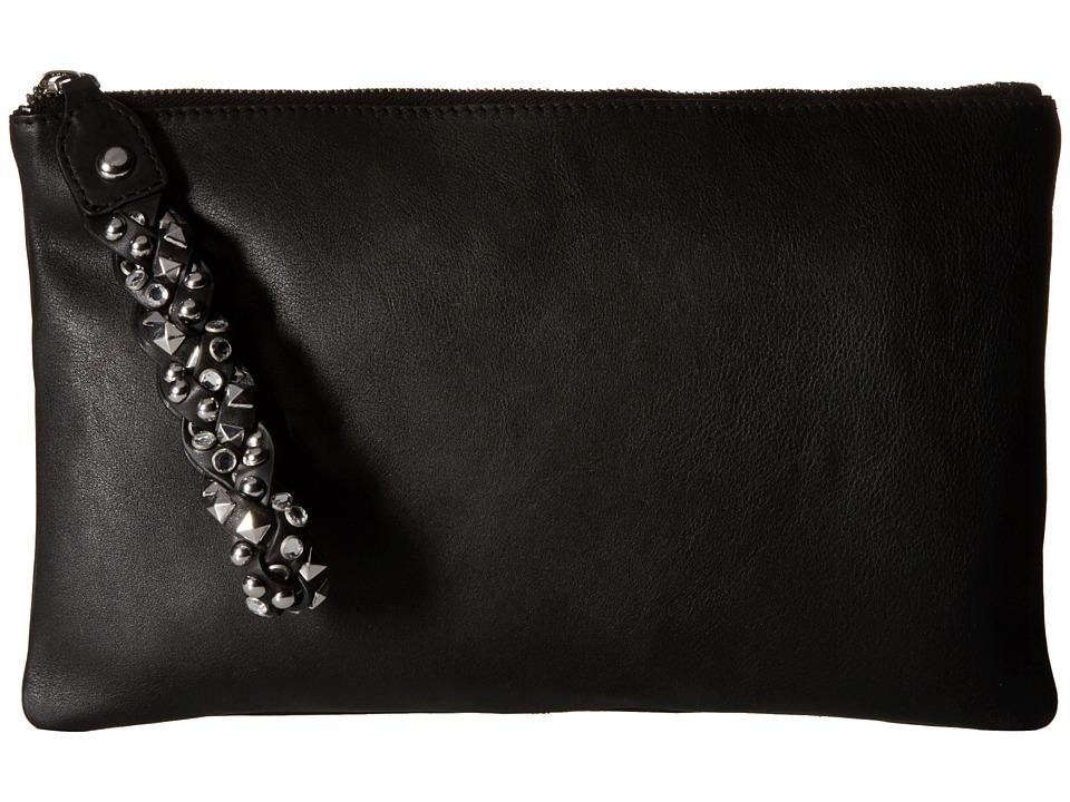 ASH - Janis Clutch (Black) Clutch Handbags