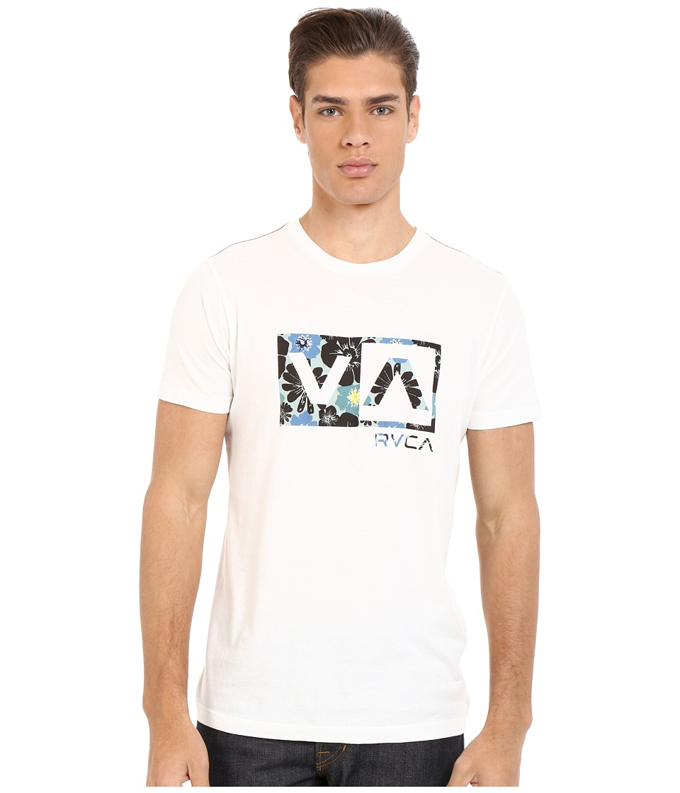 RVCA - Ashbury Balance Box Vintage Wash Tee (Vintage White) Men