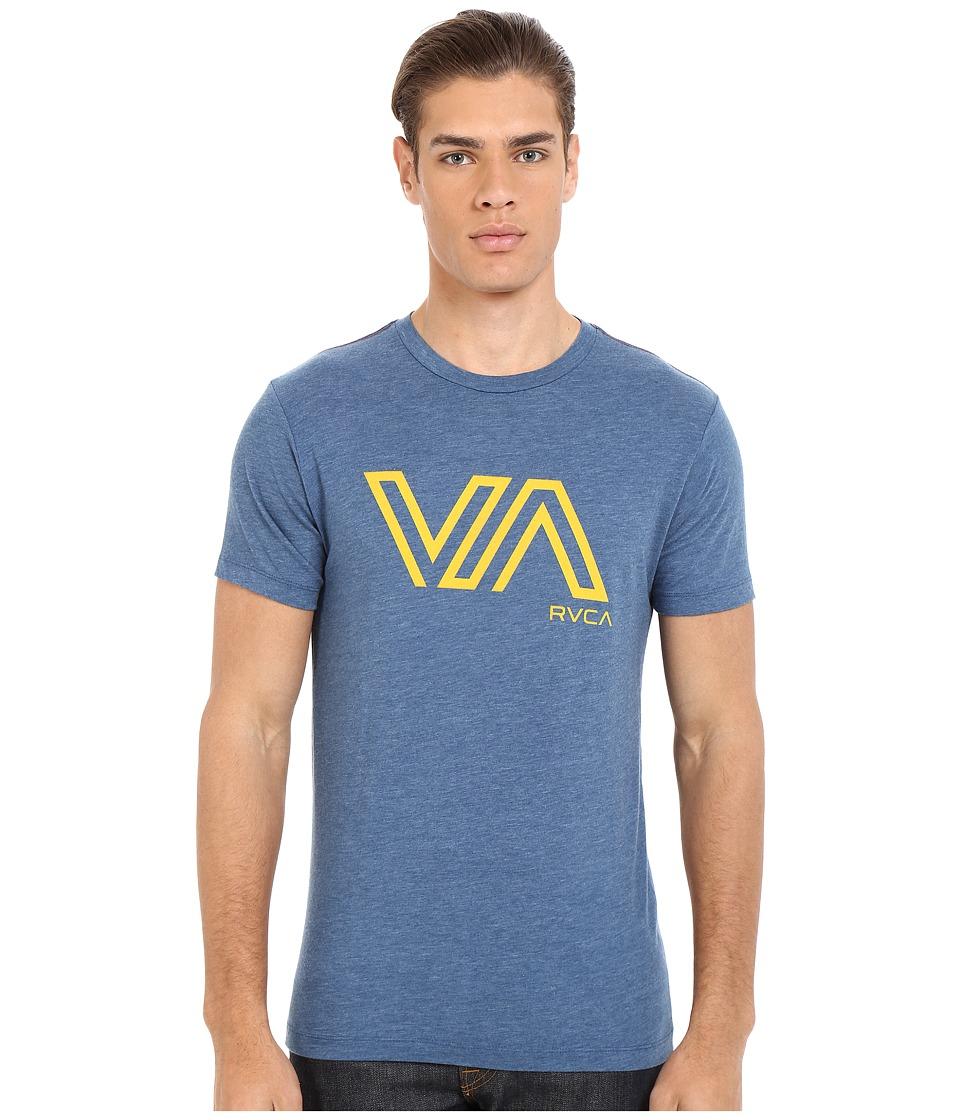 RVCA - Stencil Va Vintage Dye Tee (Stellar) Men's T Shirt