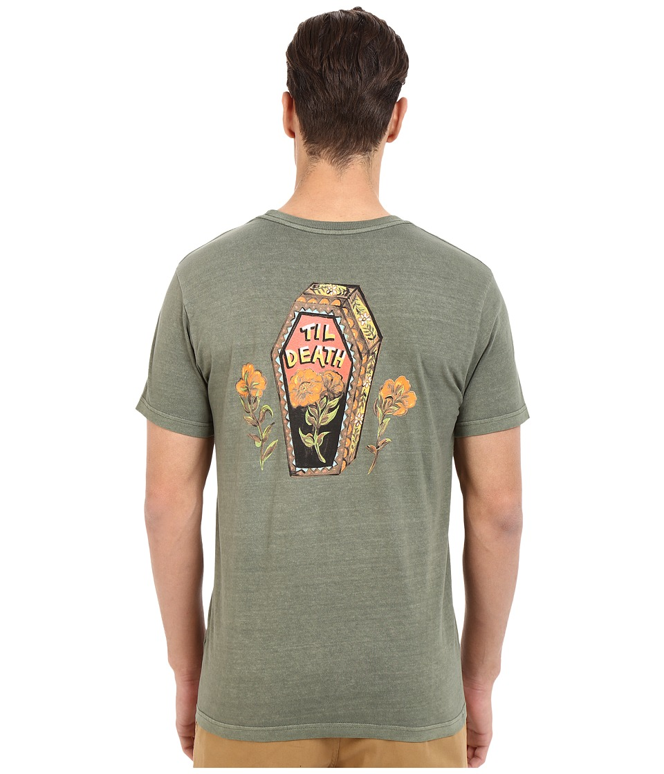 RVCA - Till Death Pocket Tee (Fatigue) Men's T Shirt