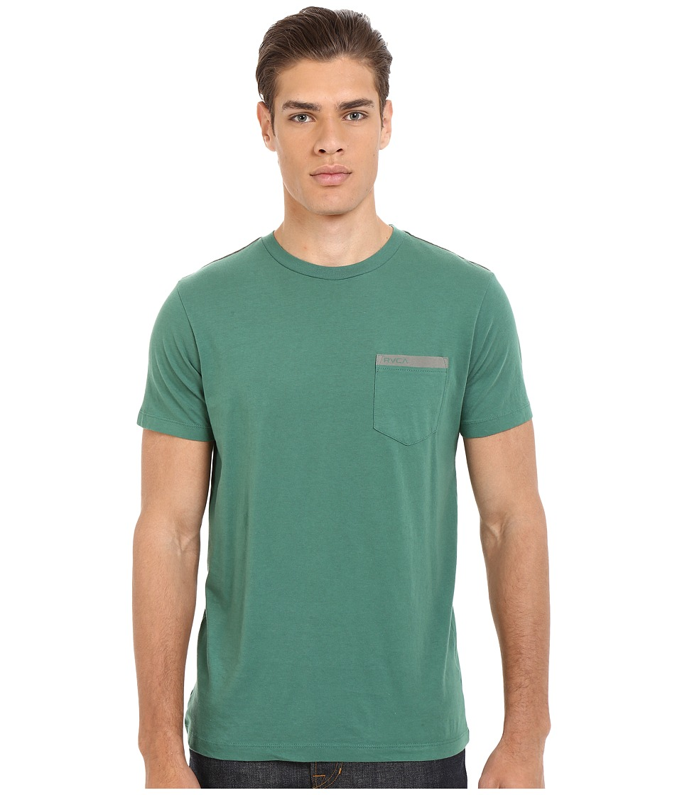 RVCA Stripped Pocket Tee (Foliage) Men
