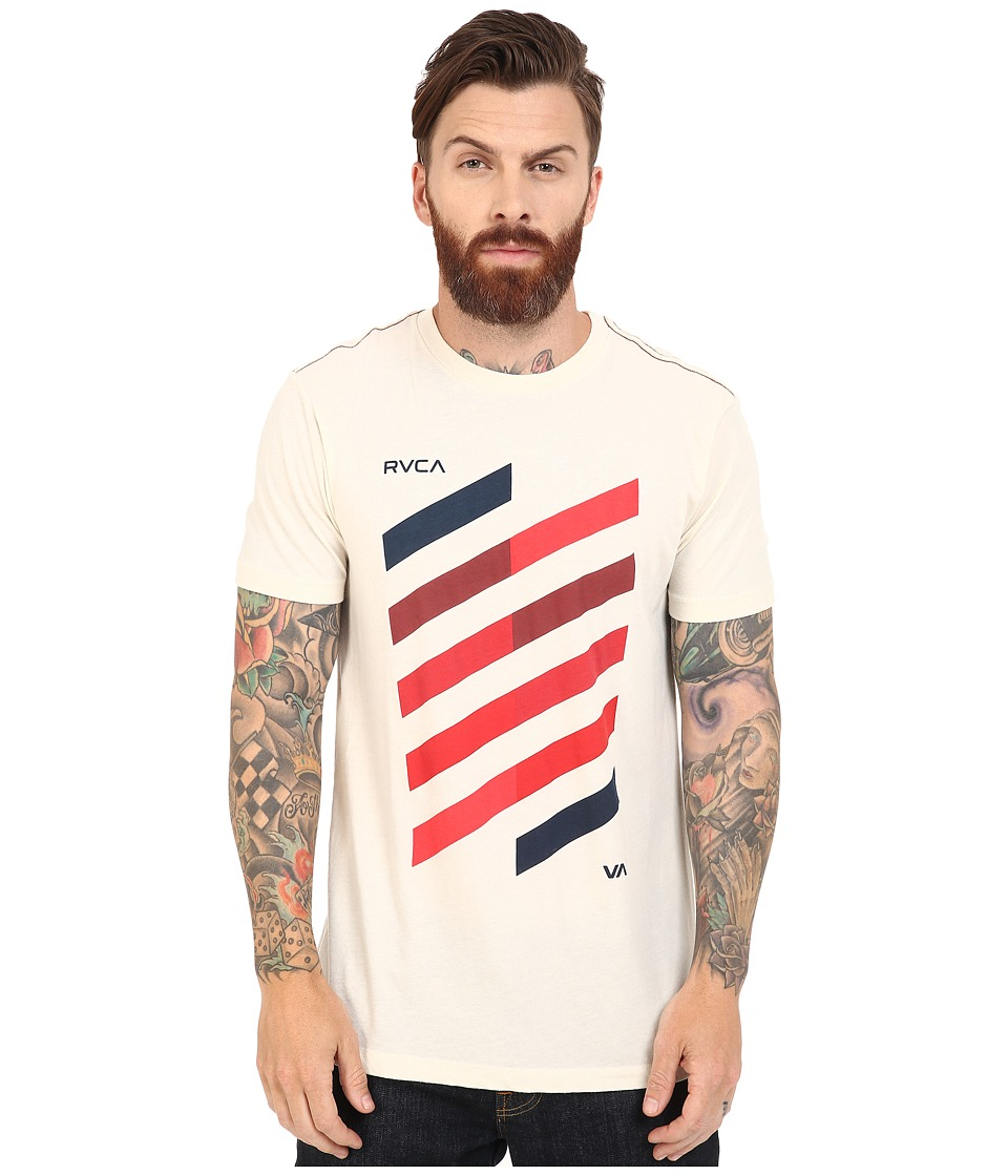 RVCA - Diagonal Tee (Almond Tea) Men