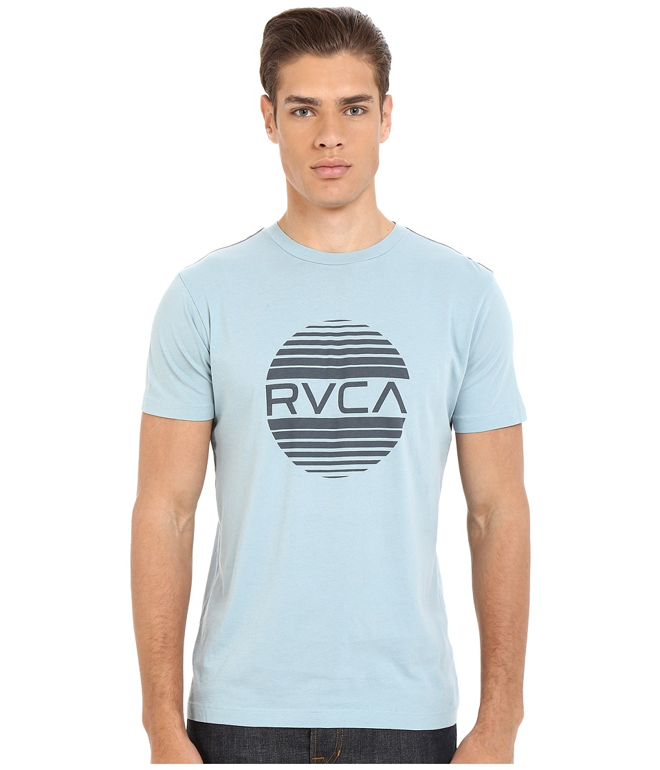 RVCA - Sanborn Vintage Wash Tee (Blue Grey) Men's T Shirt