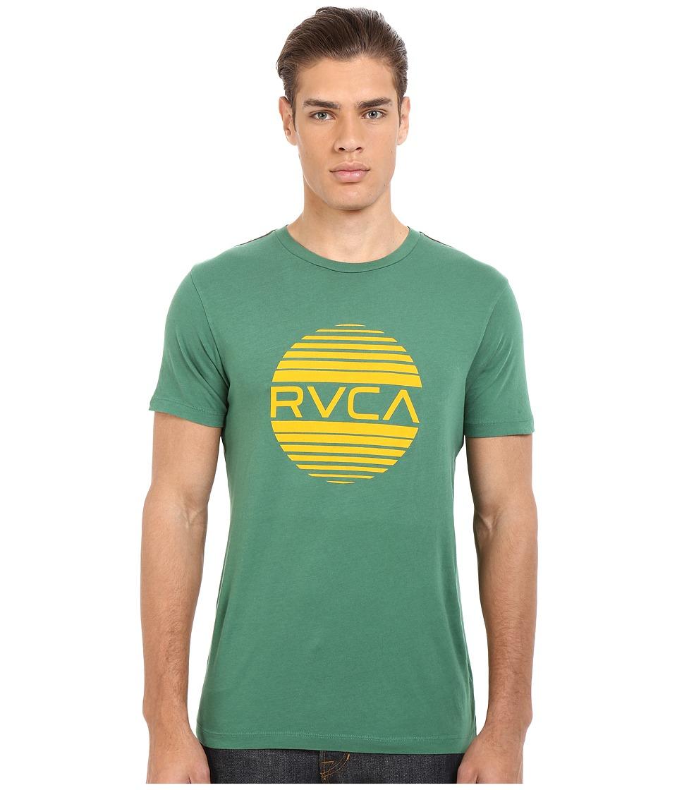 RVCA Sanborn Vintage Wash Tee (Foliage) Men