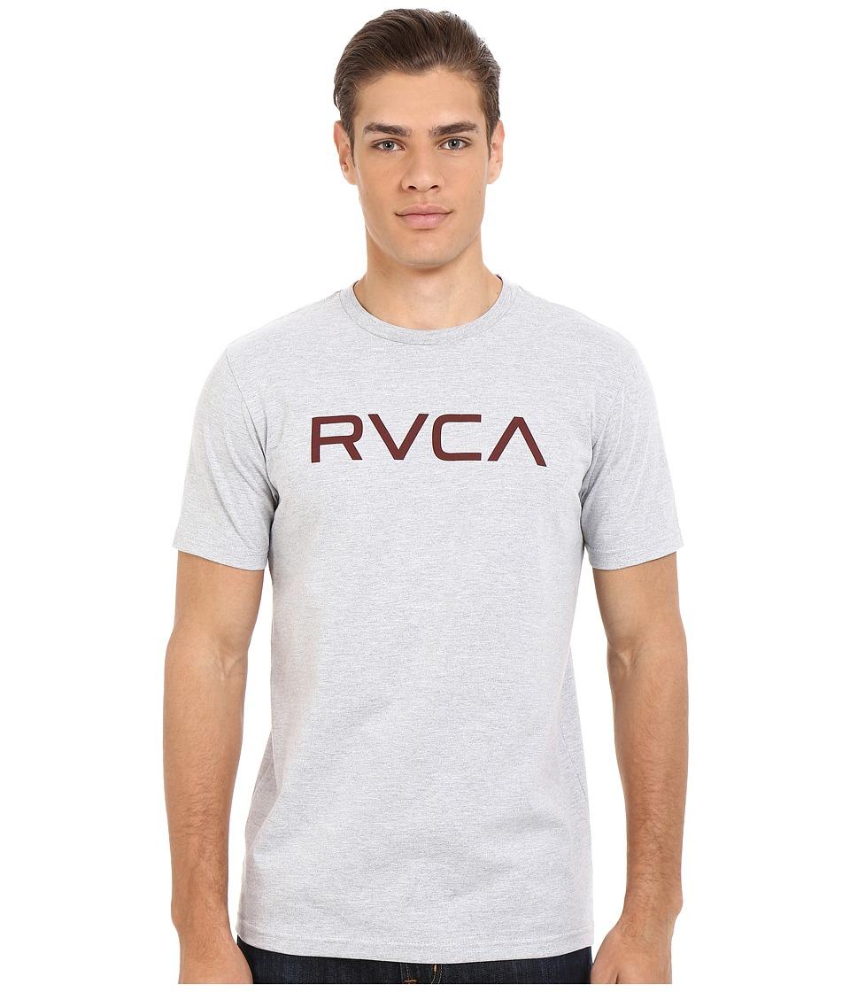 RVCA - Big RVCA Tee (Athletic Heather) Men's T Shirt
