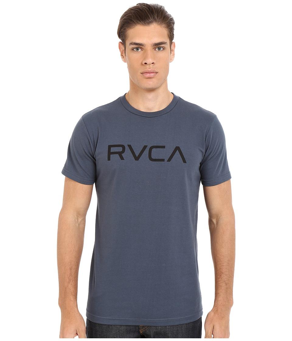 RVCA - Big RVCA Tee (Midnight) Men's T Shirt